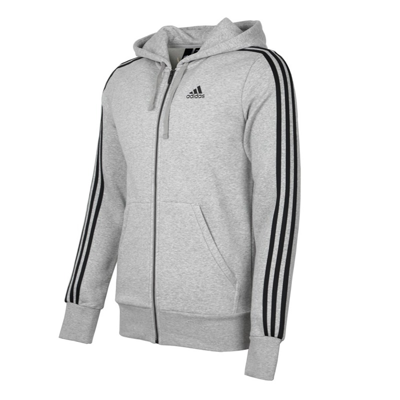 US $79.03 30% OFF|Original New Arrival 2018 Adidas Performance ESS 3S FZ B Men's jacket Hooded Sportswear in Running Jackets from Sports &