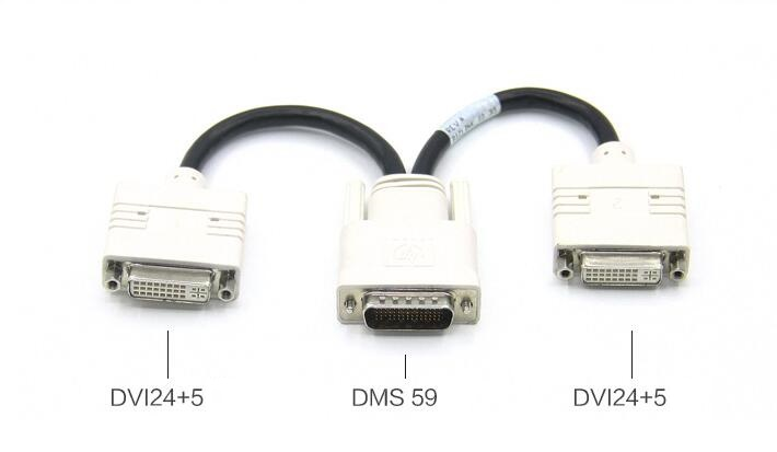 DMS 59 to Dual DVI cable DMS 59 to Dual DVI Video Cable
