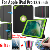 Magnet Smart Auto Sleep AWake Case For Apple IPad Pro Trifold Stand Cover For IPad Pro