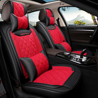 Brand Car Seat Luxury Leather Car Seat Universal Seat Cover Car Styling Suitable For Infiniti EX25