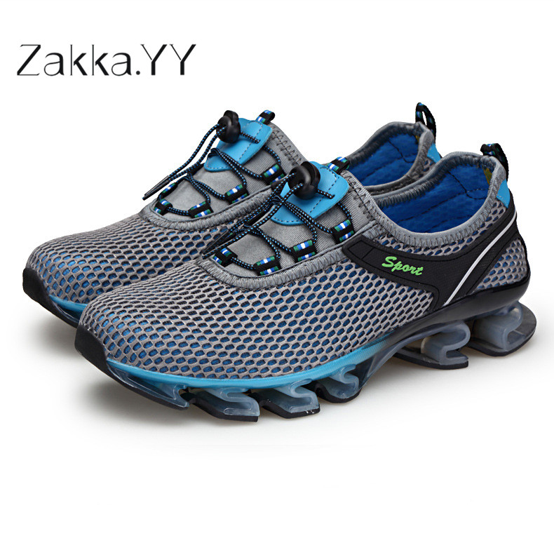 Brand Sneakers Mens Shoes Casual Footwear Mens Trainers Flying Fabric Casual Shoes Mens Sneakers Flats Large Size 39-48