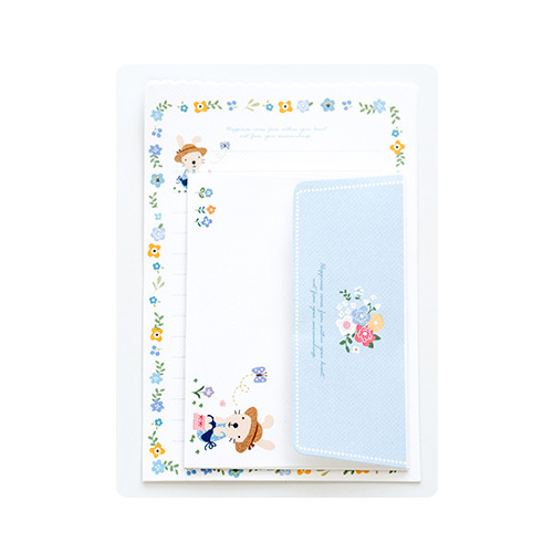 2pcs/lot Mini lovely Letter letterhead small envelope writing paper