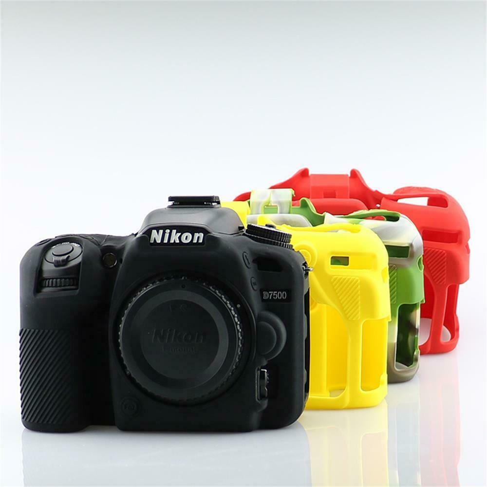 Soft Rubber Skin Silicone Camera Case Cover For Nikon D600 D610 D750 D800 D810