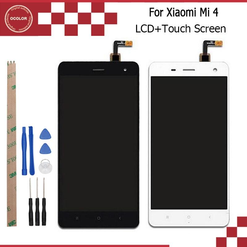 imágenes para 1920X1080 FHD Para Xiaomi M4 Pantalla LCD Pantalla y Pantalla Táctil Digitalizador Asamblea Pieza de Reparación de 5 pulgadas + herramientas + Adhesivo