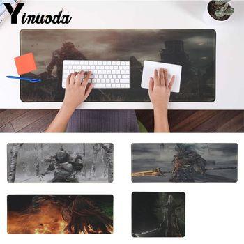 Yinuoda Your Own Mats DARK SOULS DIY Design Pattern Game mousepad Computer Gaming Mouse Pad Gamer Play Mats Version Mousepad