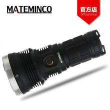 MATEMINCO MT35 مجموعة مصباح يدوي كري XHP35 مرحبا LED 7 طرق العمل سومو IPX7 1587 متر طويلة شعاع المسافة ماكس 2700lm serch الشعلة