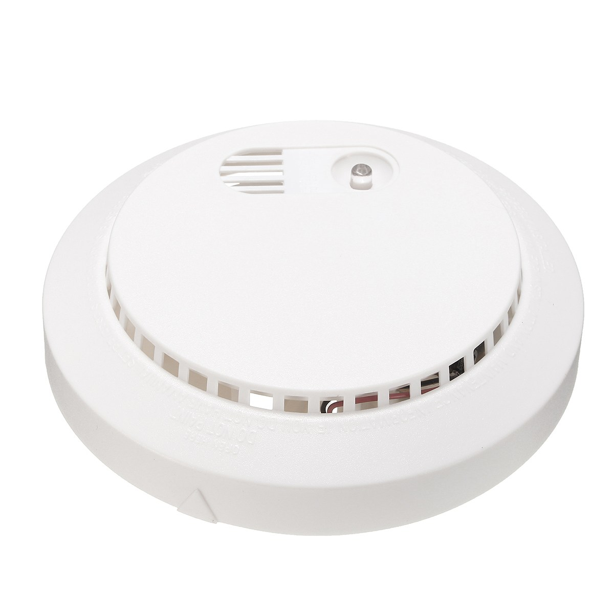 Safurance Photoelectric Smoke Sensor Warning Fire Alarm Detector Tester Battery Operated Home Security High Sensitive yobangsecurity high sensitivity photoelectric smoke detector fire alarm sensor for home security independent smoke sensor white