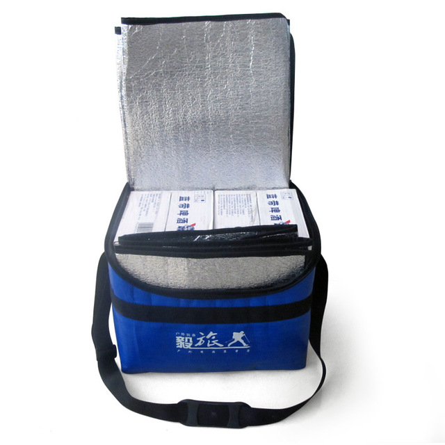 Multifunction Thermal Bag Large Out for Picnic Lunch Bags Insulation Picnic Mat Single Shoulder Messenger Folding Pad Cooler Bag