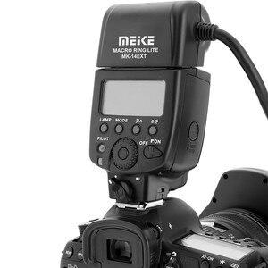 Image 3 - Meike MK 14EXT אני TTL מאקרו טבעת פלאש למצלמה ניקון D850 D7500 D810 D80 D800 D90 D5 D4 D600 עם LED AF לסייע מנורה