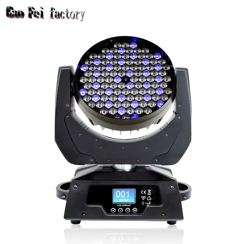 Led Dj Lights Moving Head Wash Light RGBW 108*3W DMX 12Channels Beam Light LED Stage Lighting