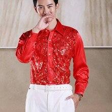 Shirts Sky-Blue/lilac-Shirt Wedding Silk Men Pink/roral Yellow/hot Custom-Made CS16 Bridegroom/man