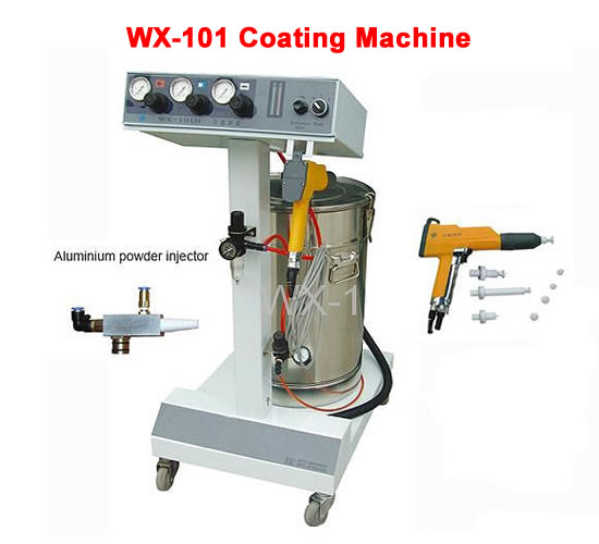 US $765 0 |WX 101 Electrostatic Spray Powder Coating Machine Spraying Gun  Paint Wide range of applications-in Power Tool Accessories from Tools on