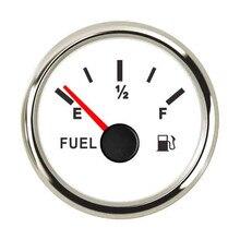 240~ 33 Ом/0~ 190 Ом указатель уровня топлива из нержавеющей стали автомобиль Лодка Грузовик датчик уровня горючего с подсветкой подходит 9~ 32 В