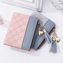 Wallets Tassel Wallet Fashion Female Wallet Women Card  Leather cartera mujer High Quality Bag Purse Woman Zipper 2018