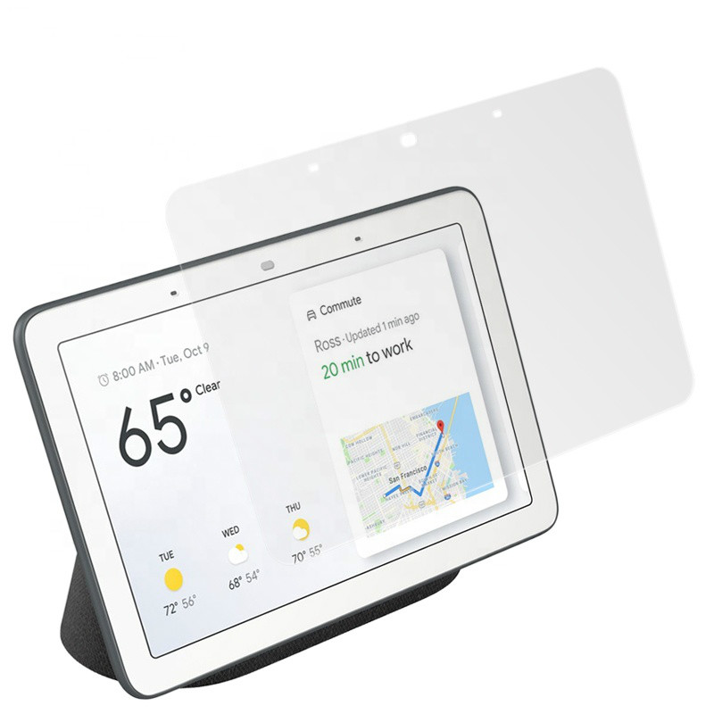 Tempered Glass For Google Home Hub 7.0 Inch 0.33MM High Clear Screen Protector Film