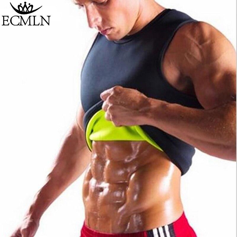 Slimming Belt Belly Men Slimming Vest Body Shaper Neoprene Abdomen Burning Waist Trainer Shapewear DropShip