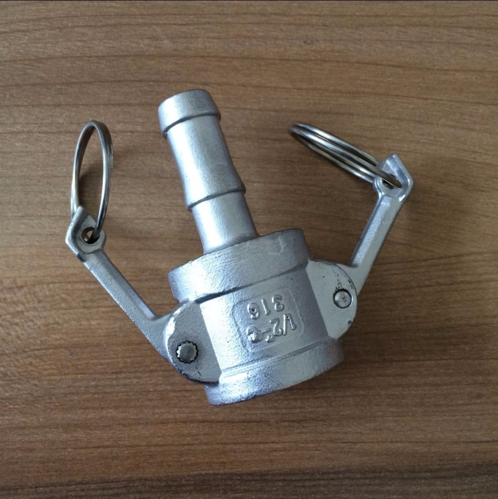 2 Inch Stainless Steel Coupling : Camlock coupling inch type c stainless steel beer