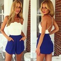 Macacao Feminino 2014 New Fashion Jumpsuit Women Sexy Hallow Backless Rompers Womens Jumpsuit Backless Bodysuit Sale 10