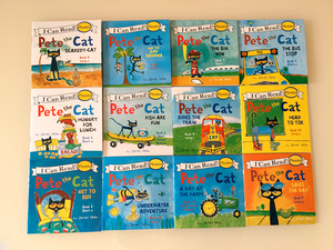Image 2 - 12pcs/set I Can Read pete the cat English Picture Books Children story book Early Educaction pocket reading book 13x13 cm