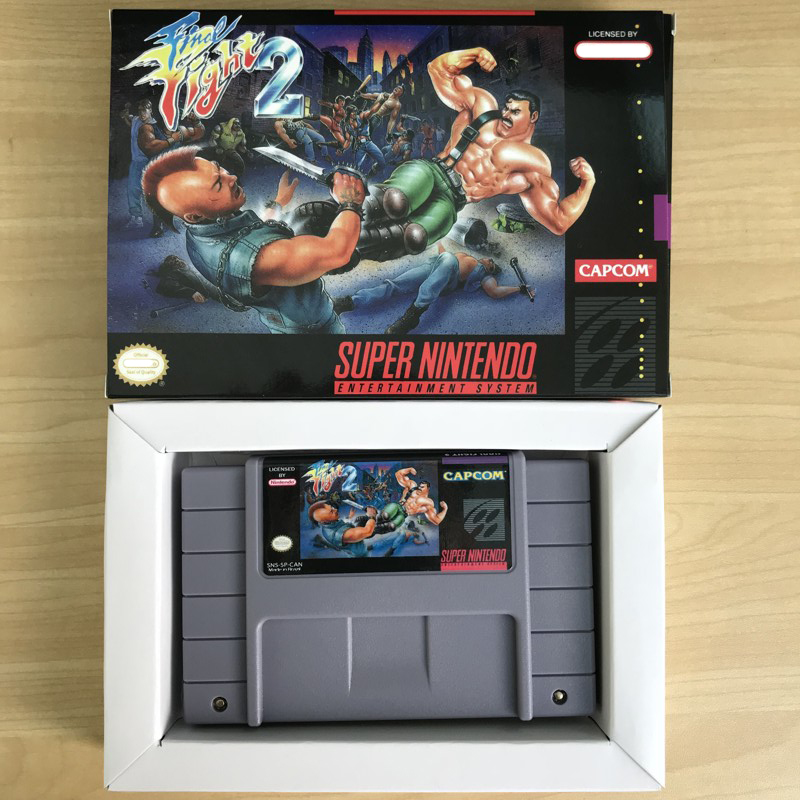 Final Consumers: Final Fight 2 16bit Game Cartidge US Version-in