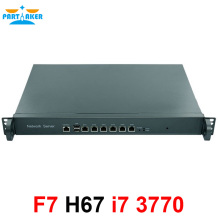 Firewall Appliance Intel LGA1155 with i7 3770 Proecssor 1U network appliance firewall H67SL with 6*82583V LAN ipsec vpn 1u firewall network router barebone pc with two sfp intel i350 six 82583v gigabit lan intel quad core i7 3770 3 4ghz