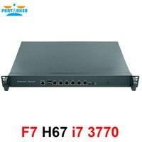 Firewall Appliance Intel LGA1155 with i7 3770 Proecssor 1U network appliance firewall H67SL with 6*82583V LAN