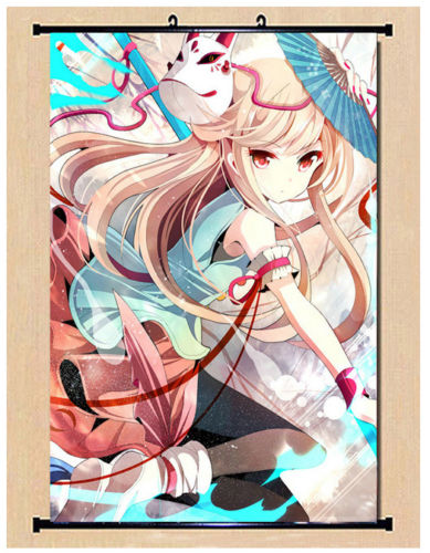 No Game No Life Steve Nopant Sexy Anime Girl Silk Poster Wall Scroll NN017