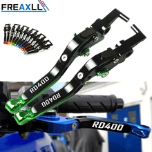 Motorbike Accessories CNC Foldable Adjustable Moto Handle Brake Clutch Levers For Yamaha RD400 RD 400 1976 1977 1978 1979