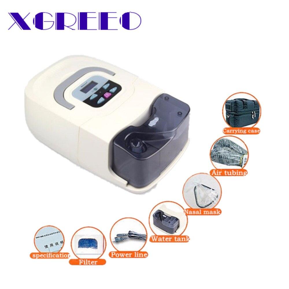 BMC XGREEO GI Máquina Para anti ronco Apnéia Do Sono com máscara de CPAP carreg o saco cuidados pessoais elétrica umidificador home appliance