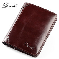 Men's Wallet Short Business Driver's License Wallet Male Genuine Leather Classical Solid Men's Mini Purse Coin Pocket Vintage