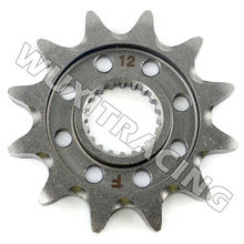 Racing Steel Front Sprocket 12T For YAMAHA YZ 125 2005-2013 WR 250 F R X YZ 250 F 2001 02 03 04 05 06 07 08 09 10 11 12 13 14