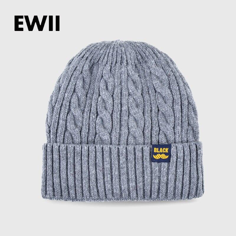 2017 Fashion winter beanie hats for men knitted wool cap skullies men beanies  hat women bonnet femme warm caps bone gorro in Pakistan cb3c8703173