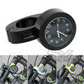 "7/8"" 22mm Universal Motorcycle Handlebar Digital Clock Watch Black with Adjustable Mount for Kawasaki Yamaha Honda BMW KTM Motor"