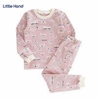 Cat Toddler Kids Pajamas Set Baby Girl Clothes Sets Boy Cotton Cartoon Tops Pants Nightwear Pyjamas