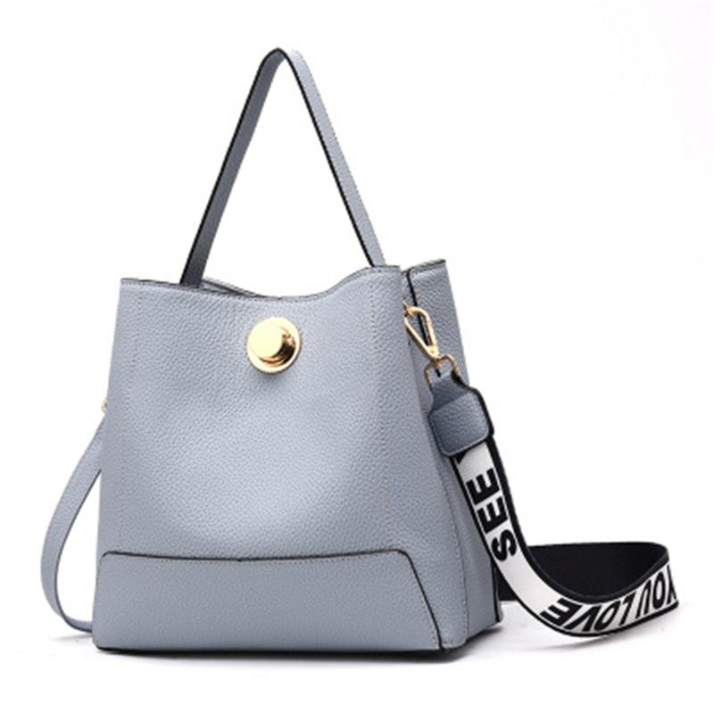 Women's Handbags Brand Candy Shoulder Bags Ladies Totes Simple Trapeze Women Messenger Bag