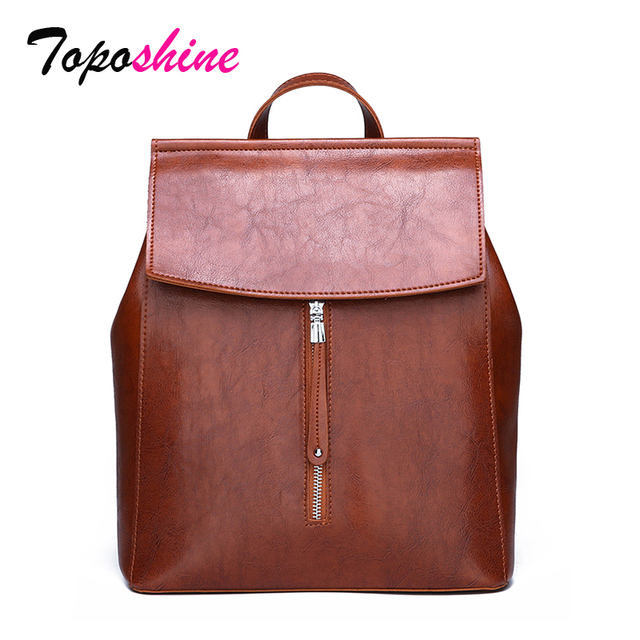 Toposhine High Quality Ladies Backpack New Fashion  Casual Wild Large Capacity Travel Backpack Multi-Function Backpack