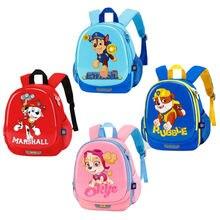 Новое поступление, настоящая Детская сумка «Щенячий патруль», школьный милый ранец, собачий патруль, рюкзак, детский игрушечный подарок, 4 цвета, 30 см