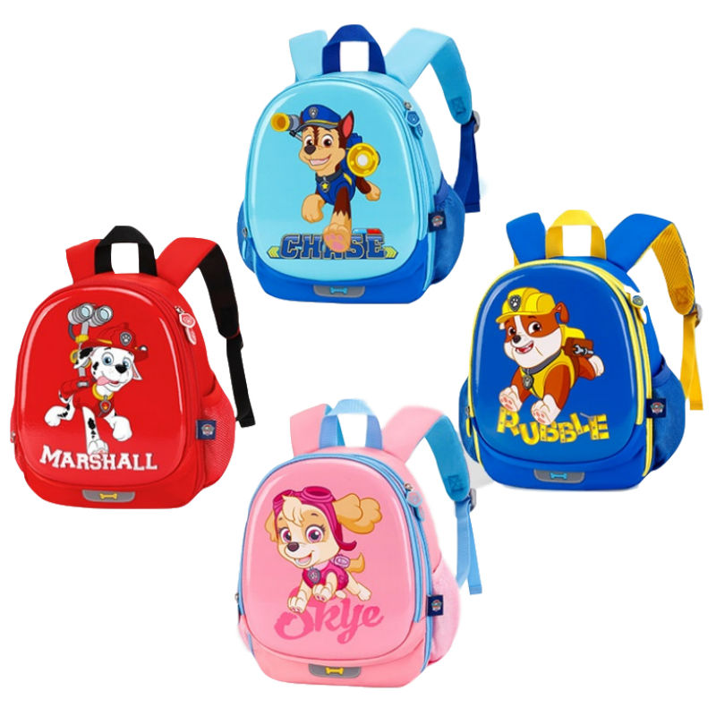 0e9f8fc842 2019 New Arrival Genuine Paw Patrol kids bag school cute knapsack Canine  Puppy Patrol backpack children Toy gift 4 colors 30cm