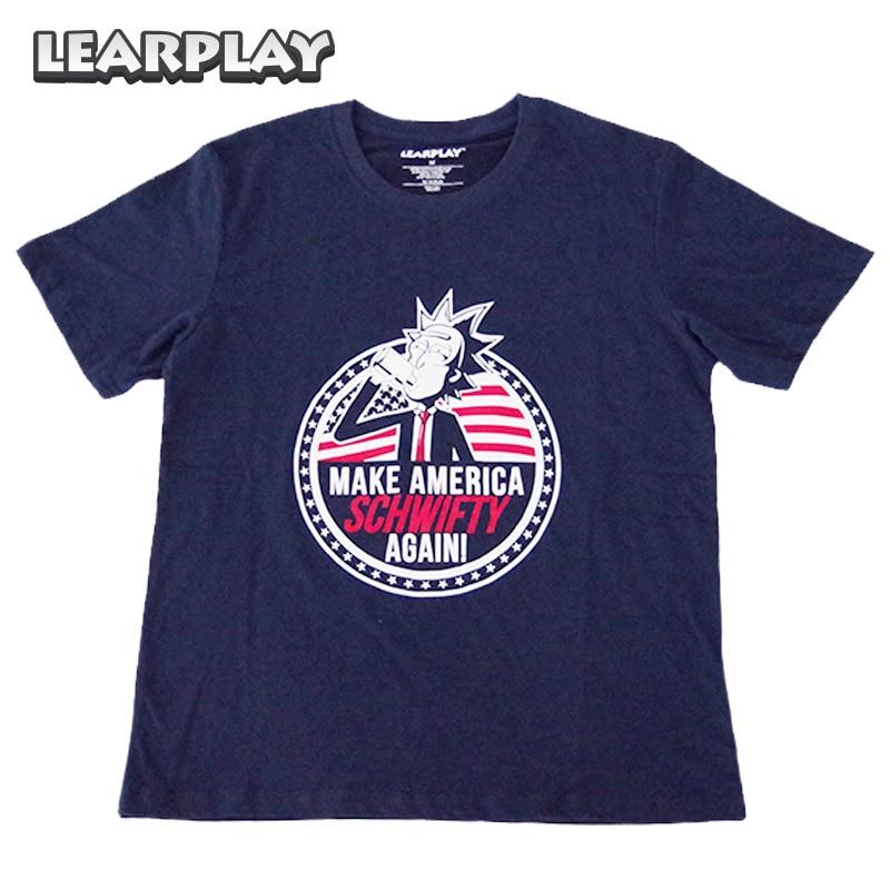 Camiseta de Rick y Morty Make America Schwifty Again Camiseta de - Disfraces