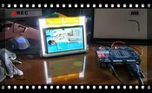 GP90 GP100 ekran yeni 5.8 inç led projektör GP90 GP90UP AUN T90 matrix çözünürlüğü 1280x800 projektör aksesuarları