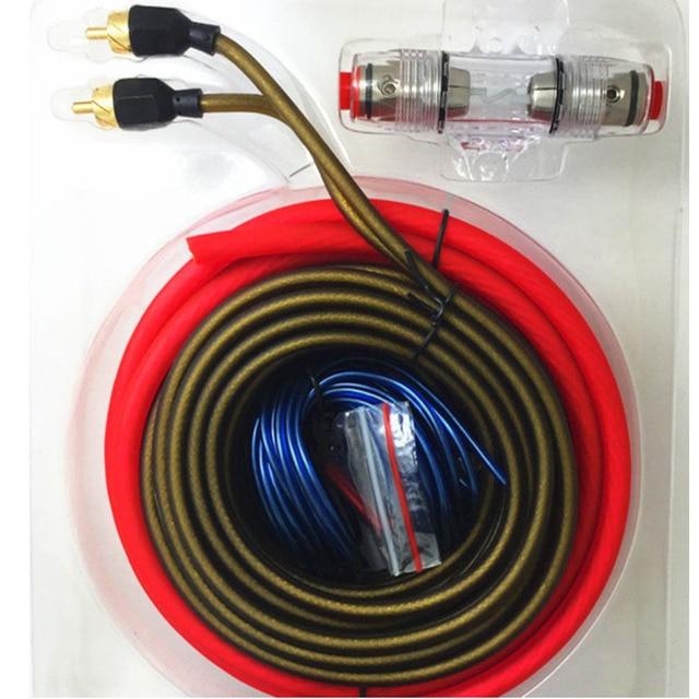 1500 watt Mit AGU SICHERUNG 10GA Auto Audio AMP Power Kabel ...
