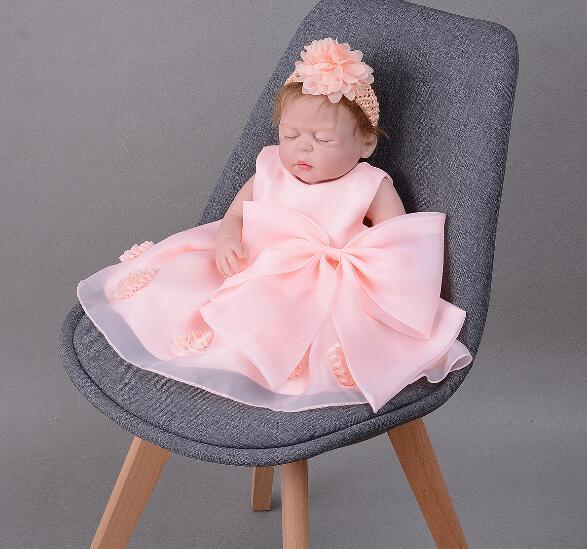 55cm Bebe Reborn Alive Bonecas Fashion Lifelike Reborn Baby Doll Girls All Vinyl Silicone And Princess Dress Child Birthday Gift