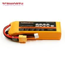 Tcbworth RC Lipo батареи 3 s 11.1 В 2800 мАч 60C для RC Самолет автомобиля Лодка Акку