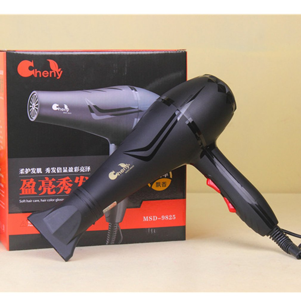 Blower Hair-Dryer Professional Black 2500W Heat-Speed Dry-Watt High-Quality title=