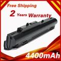 4400 mAh Bateria Para msi Wind U100 U90 U100X BTY-S11 BTY-S12 BTY-S13 para lg x110 para medion akoya mini e1210 para advent 4211