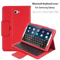 For Samsung Galaxy Tab A 10 1 2016 T580 T585 T580N T585N Bluetooth Keyboard Portfolio Folio