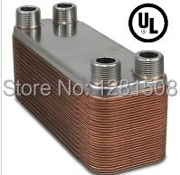 New 30 Plate beer Wort Chiller Stainless Steel 304 Brewing Chiller 4 1 2 Male NPT