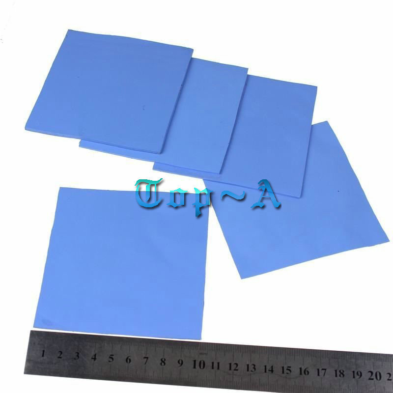 6pcs 100x100mm 0.5mm 1mm 1.5mm Combination Thermal Pad Heatsink Cooling Conductive Silicone Pad For Laptop IC GPU VGA Card for acer aspire v3 772g notebook pc heatsink fan fit for gtx850 and gtx760m gpu 100% tested