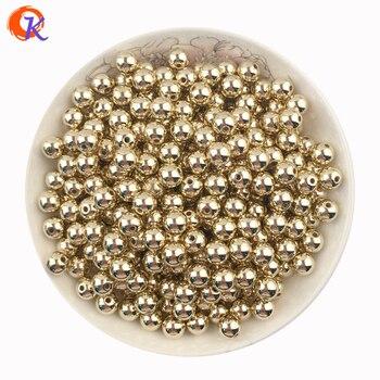 420c07938f9 Accesorios de joyería hechos a mano de moda 1000 unids lote Color dorado  liso plástico