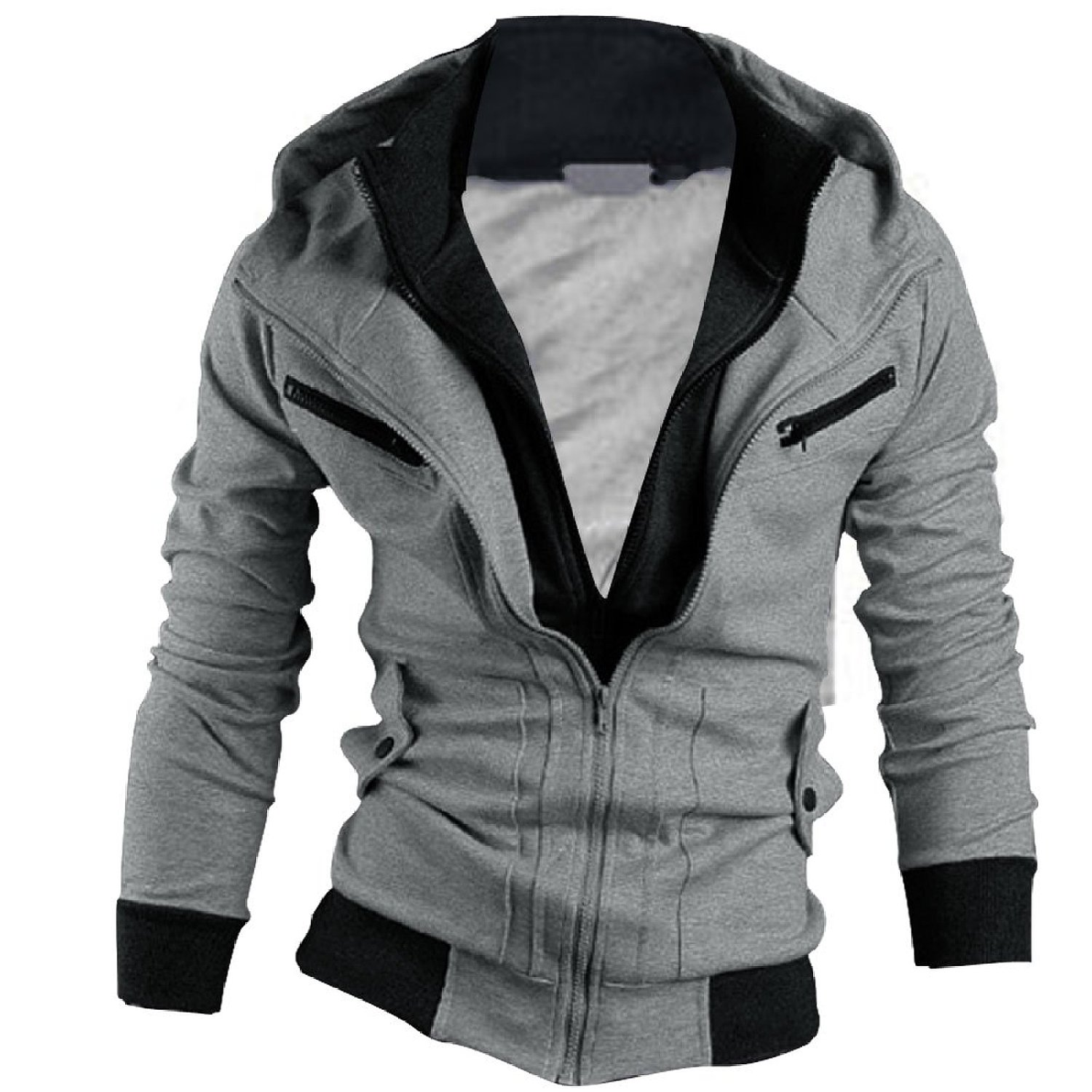 Cool Zip Up Hoodies For Men Photo Album - Bellersfashion